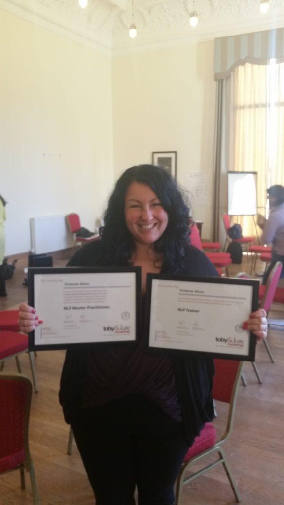 NLP Certifications Vivienne Joy